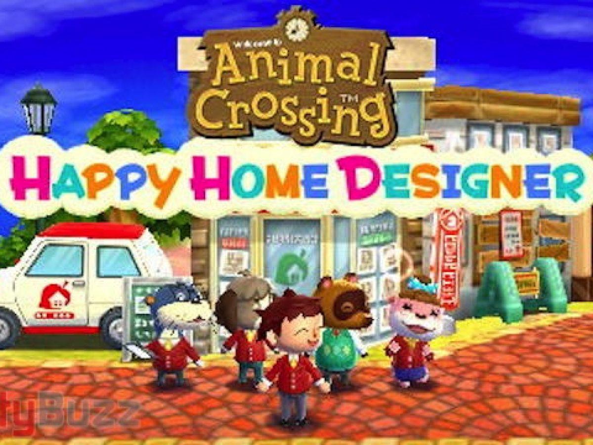 Review Animal Crossing Happy Home Designer