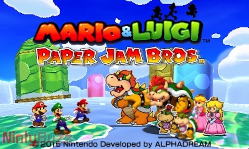Review Mario And Luigi Paper Jam Bros