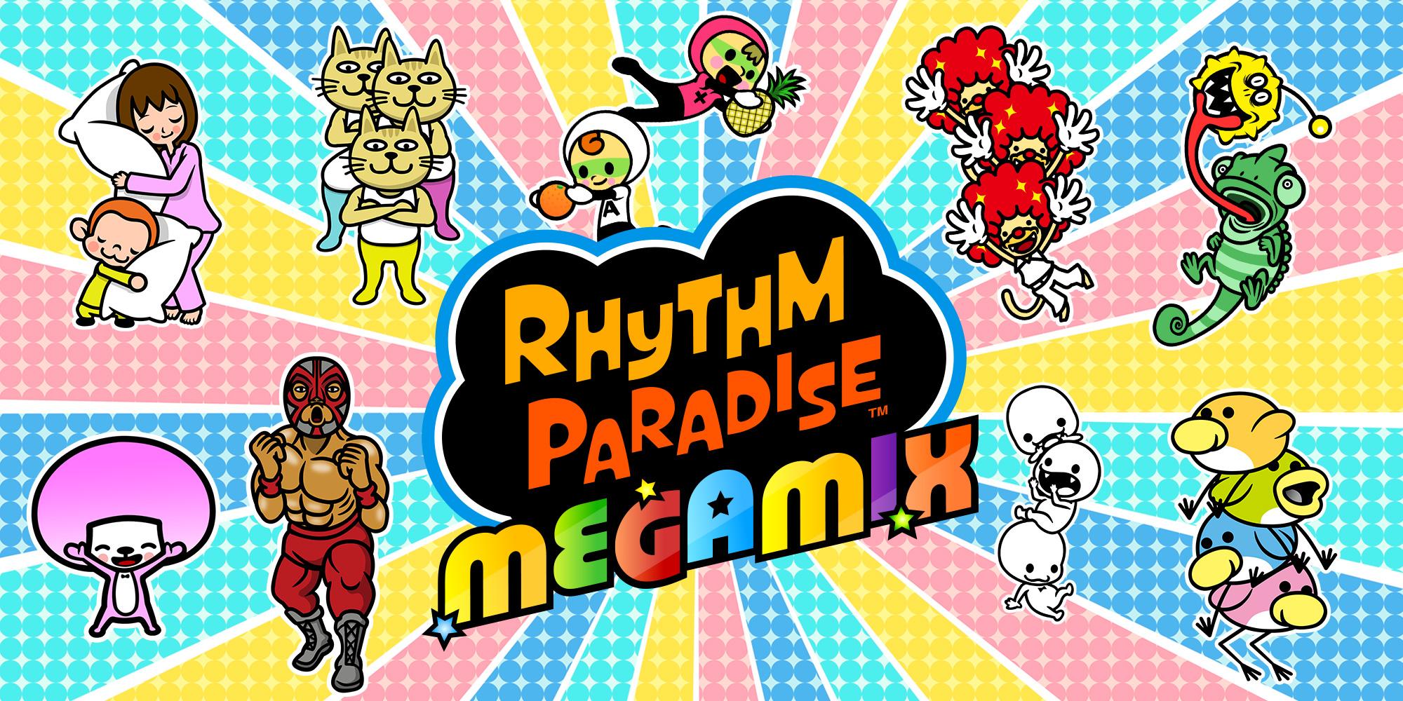 Rhythm Paradise Megamix Title