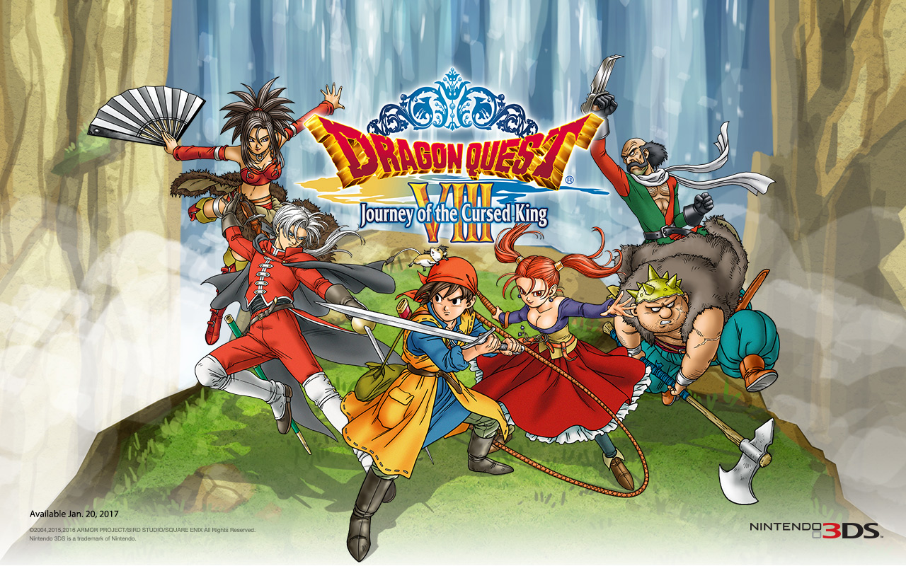 REVIEW – Dragon Quest VIII: Journey of the Cursed King