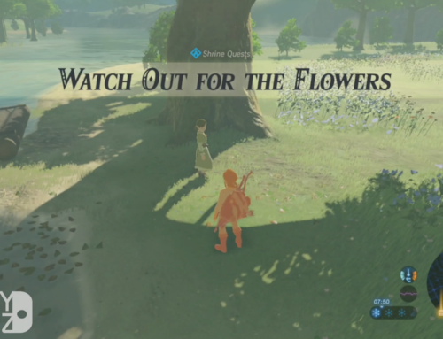 Breath of the Wild – Watch out for those Flowers