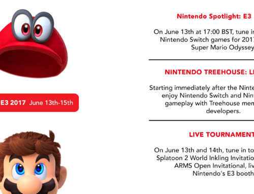Nintendo Announces E3 2017 Plans