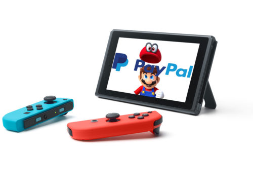 PayPal Comes to Nintendo Switch