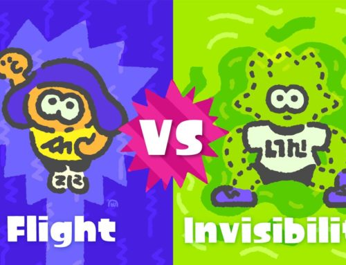Next Splatfest Announced – Flight vs. Invisibility