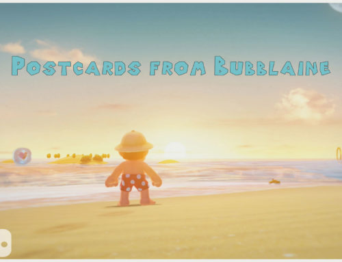 Postcards from Bubblaine – Super Mario Odyssey
