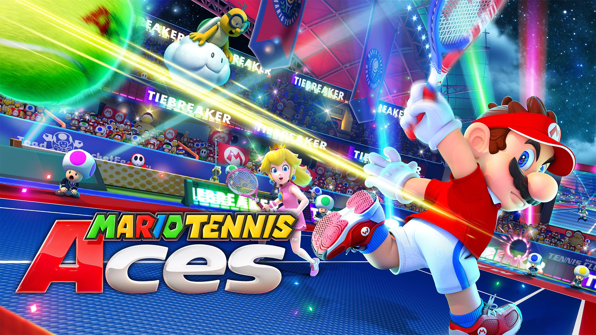 Mario Tennis Aces Pre-Launch Tournament Dated