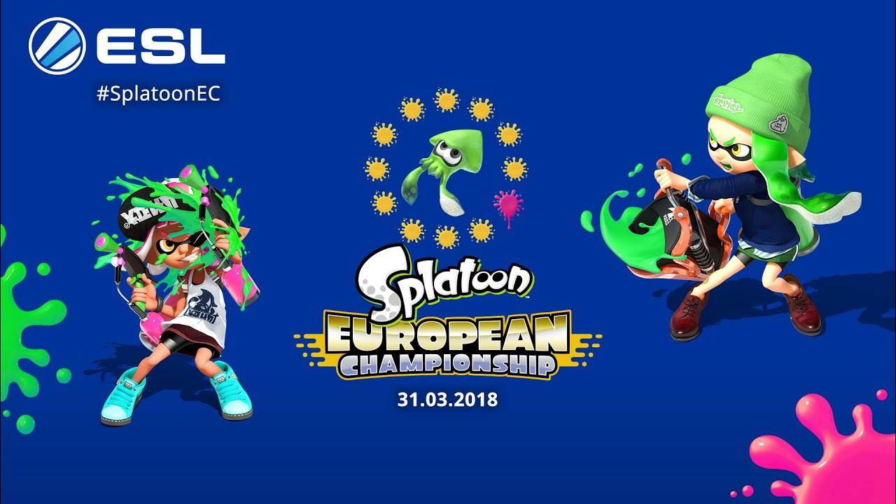 Stay Off the Hook and Watch the Splatoon European Championships