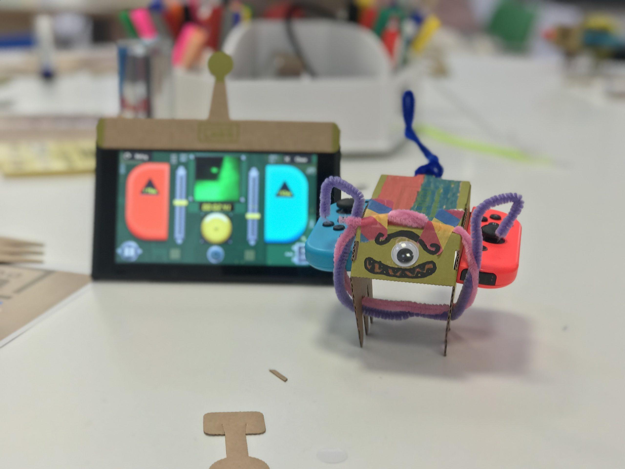 A Goodo Nintendo Labo Doggo