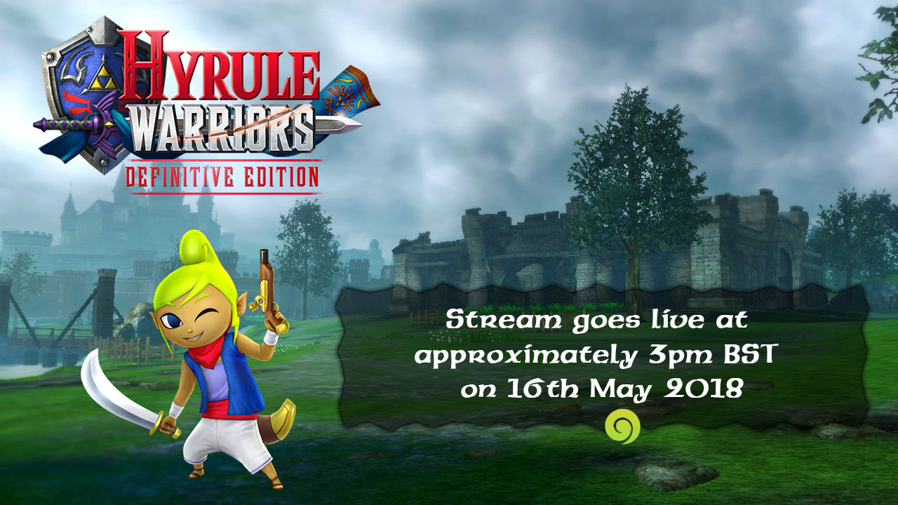 Hyrule Warriors Definitive Edition Launch Stream