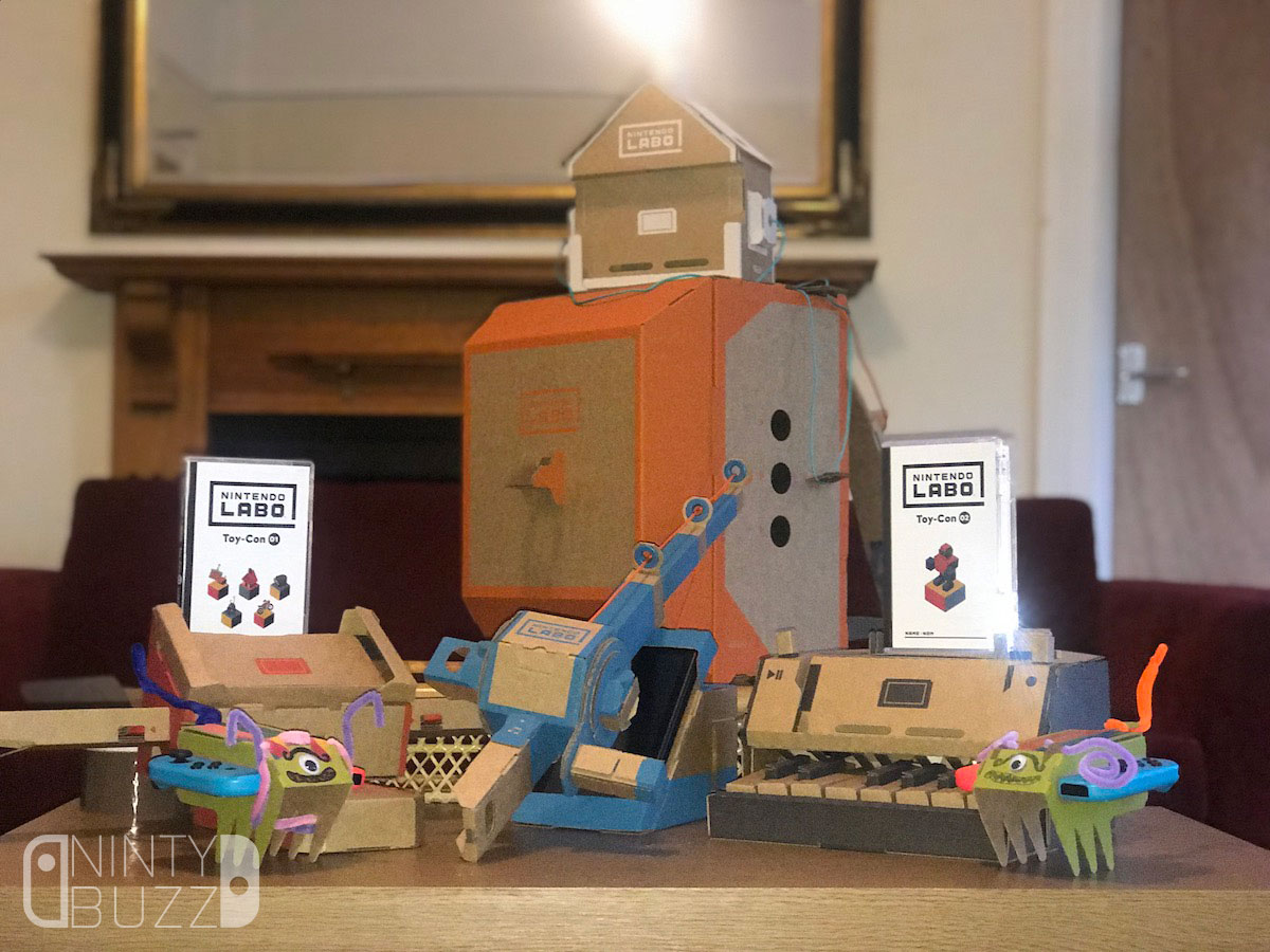 REVIEW – Nintendo Labo: Variety and Robot Kits