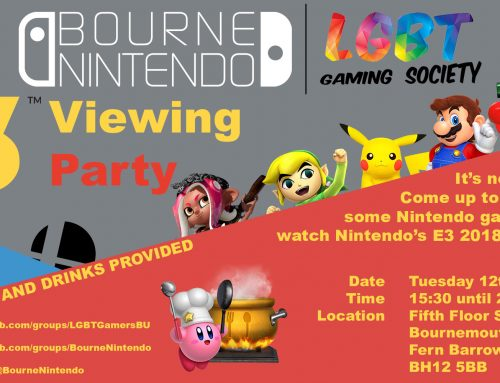 BourneNintendo – Nintendo E3 Viewing Party 2018
