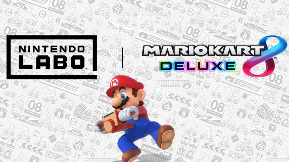 Mario Kart 8 Deluxe Gets Labo Support