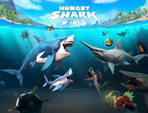 Hungry Shark World Bites its way onto Switch Tomorrow