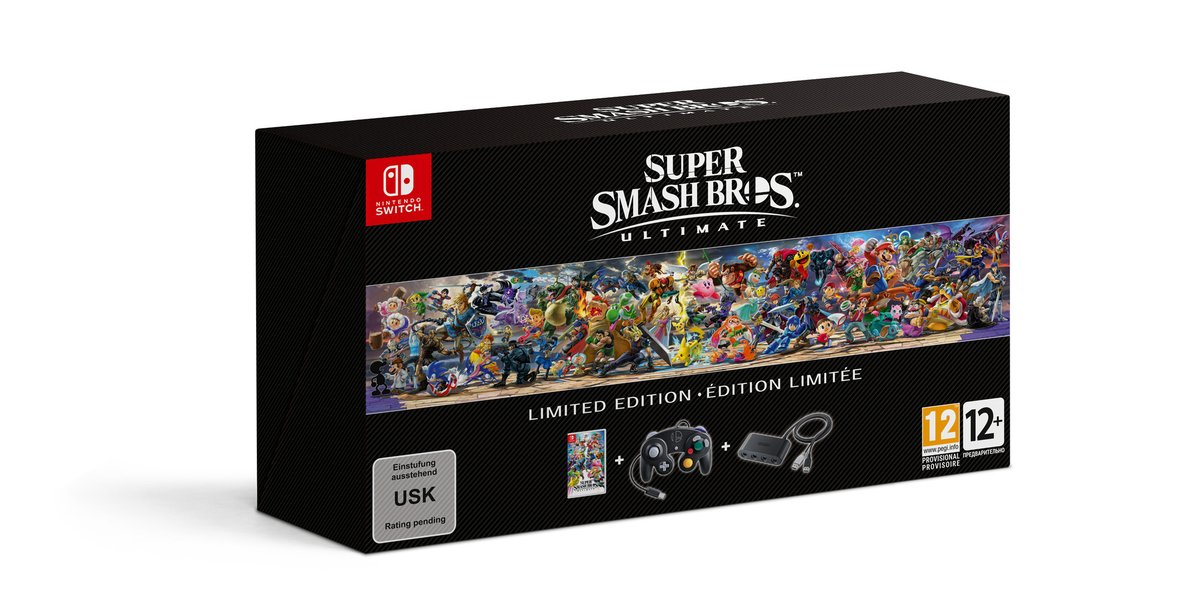 Super Smash Bros. Ultimate Limited Edition UK Preorder now Live, comes with exclusive Steelbook