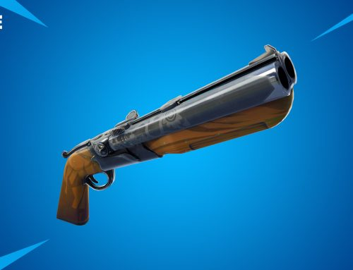 OMG! Double Barrel Shotgun all the way in Fortnite update