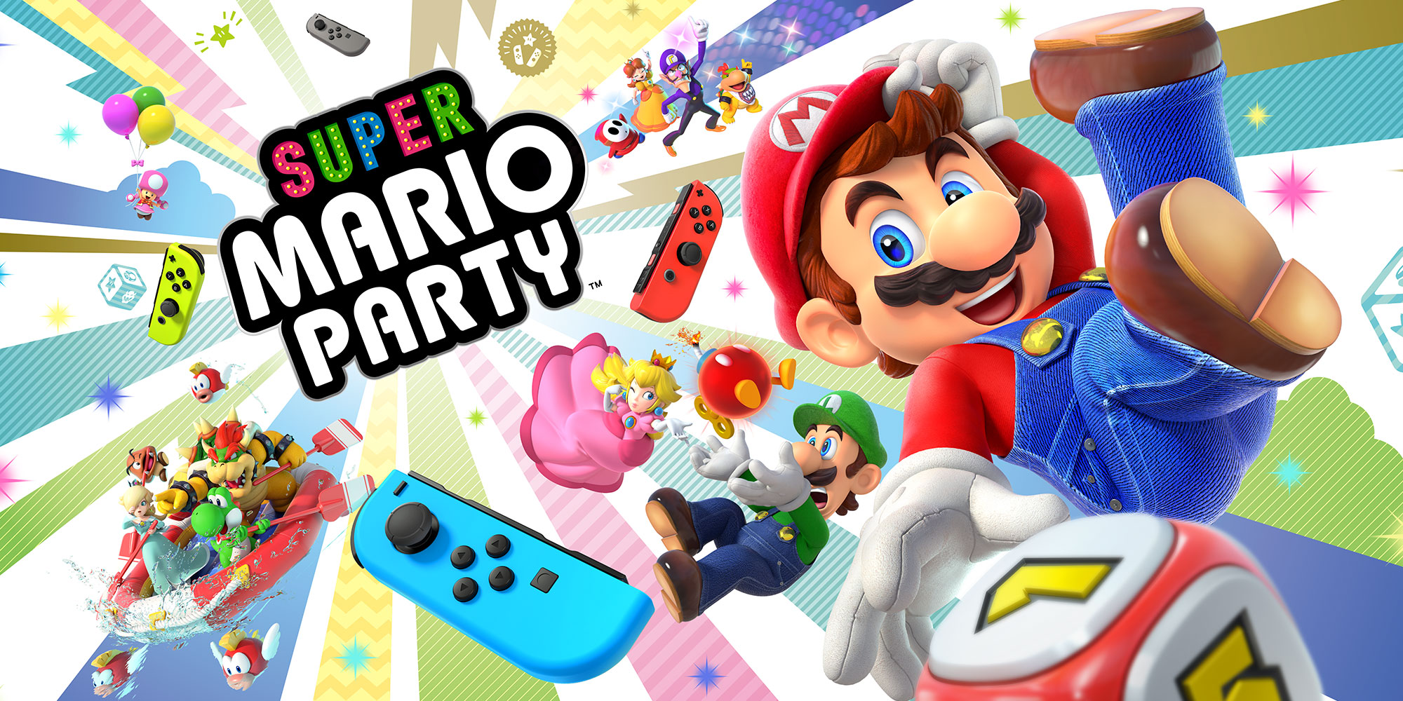 REVIEW – Super Mario Party