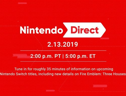 Nintendo Direct – 13th February 2019