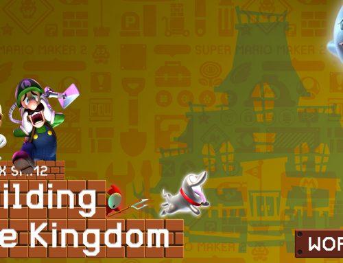 NPUK X SMM2 Building the Kingdom – Luigi's New Mansion