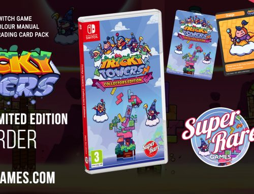 Tricky Towers launches physically for Switch June 8th!