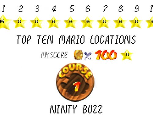 Top Ten Mario Locations