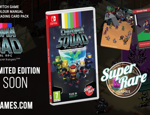 Chroma Squad Gets Super Rare with Physical Edition