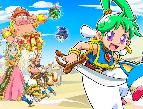 Wonder Boy: Asha in Monster World announced for Nintendo Switch