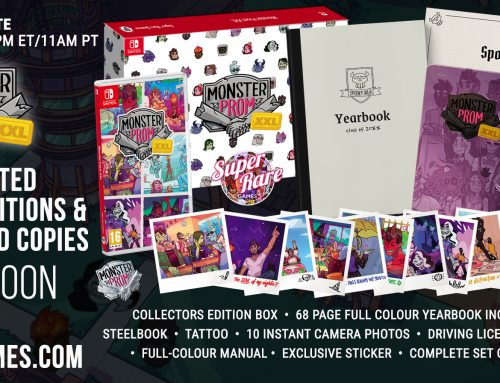 Discover the Horrors of Dating with Monster Prom's Super Rare Collector's Edition
