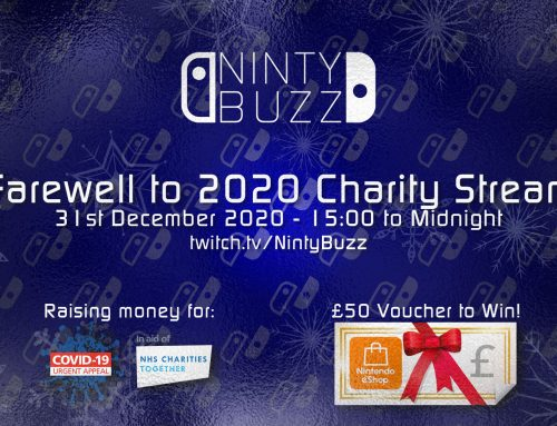Farewell to 2020 Charity Stream