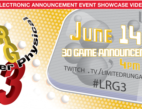 Limited Run Games at E3 with LRG3 Announcements